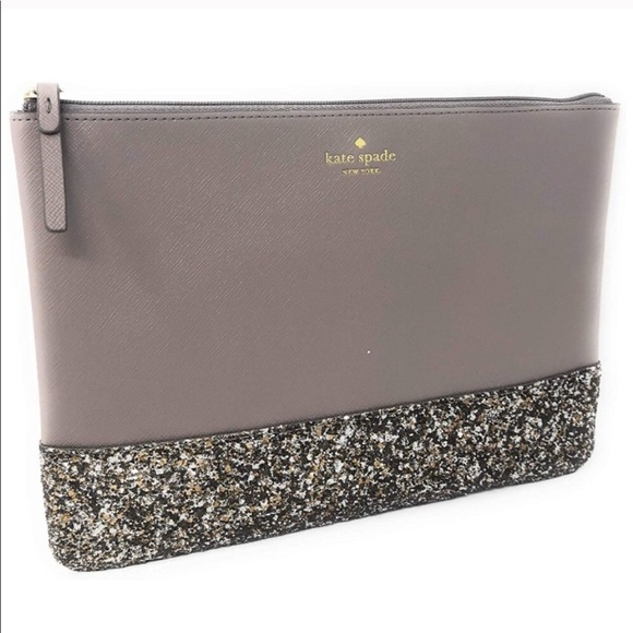 kate spade Handbags - Kate Spade ♠️ Greta Court cityscape glitter clutch